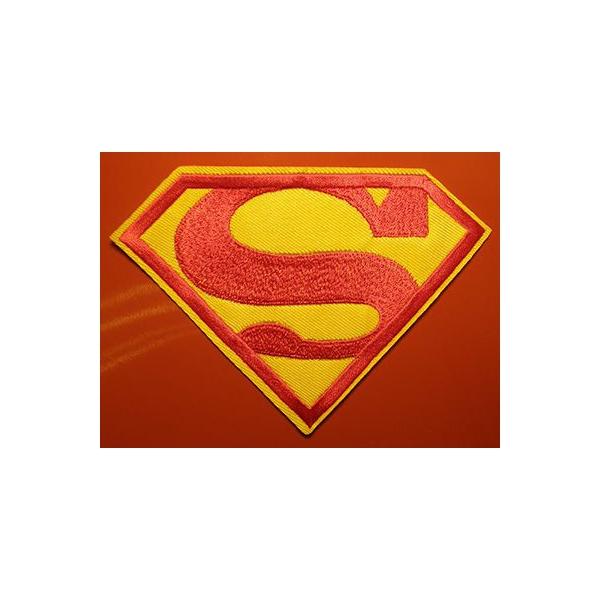 ef7a600421 Vasalható, varrható folt Superman - Ruhára vasalható, varrható ...